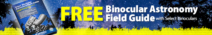 Free Binocular Astronomy Field Guide with selected binoculars