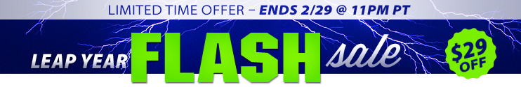 Leap Year Flash Sale