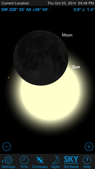StarSeek depicts eclipses, conjunctions, transits, and occultations hundreds of years in the future