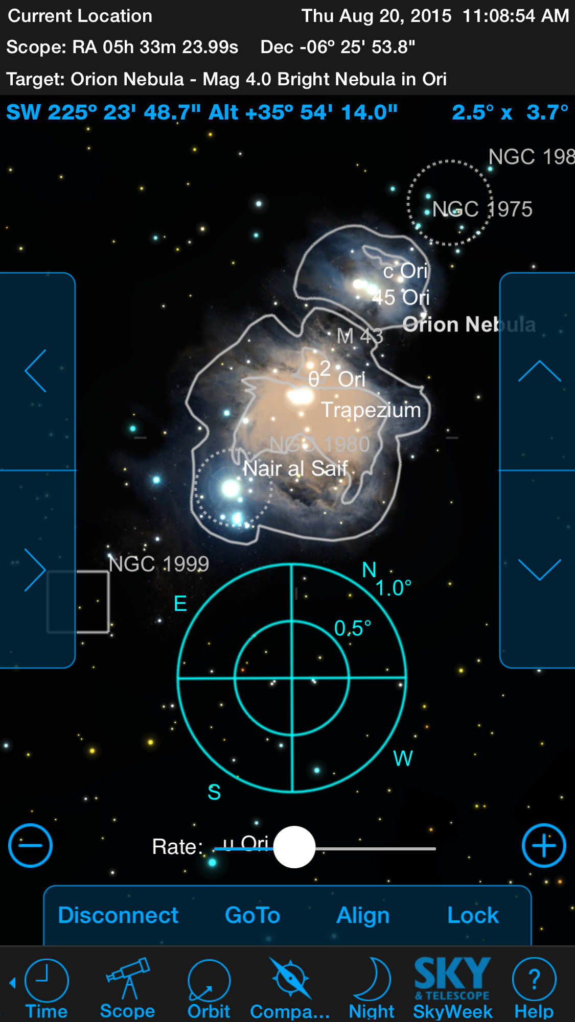 Control an Orion GoTo telescope (or other brands) from your Android device